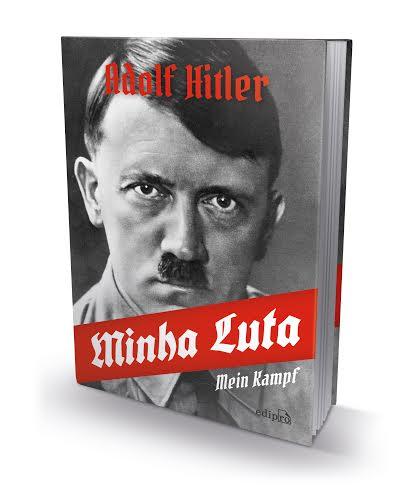 Capa da versão de 'Mein kampf' da Edipro, que deve chegar às livrarias ainda este mês | © Reprodução