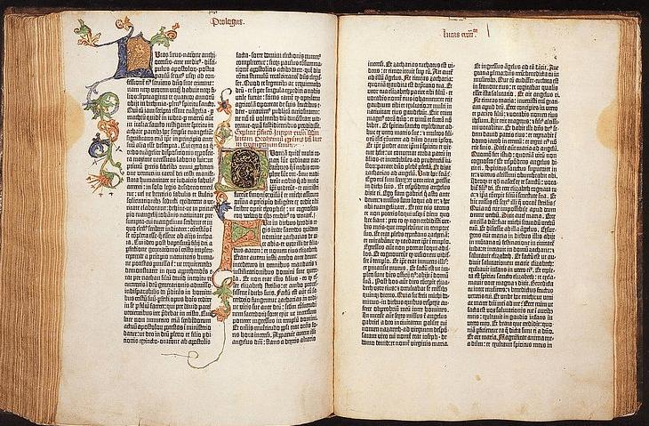 B42, Bíblia criada por Gutenberg | © Gutenberg Museum