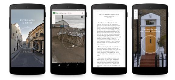 Projeto resultante da parceria entre Editions at Play, o Google Creative Lab Sydney e a Visual Editions é um 'livro que não pode ser impresso' | © Reprodução