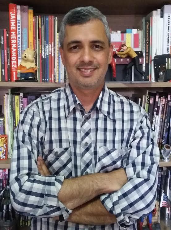 Afonso Andrade é um dos curadores do Espaço Geek & Quadrinhos da Bienal de Minas | © Divulgação