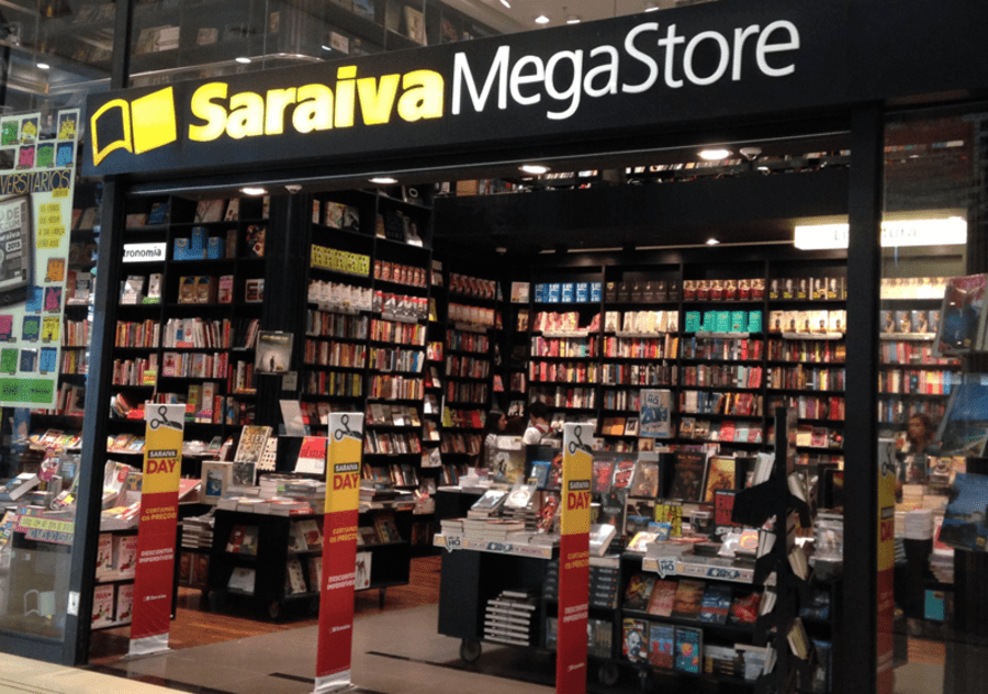 Loja da Saraiva no Shopping Higienópolis em São Paulo   ©Leonardo Neto