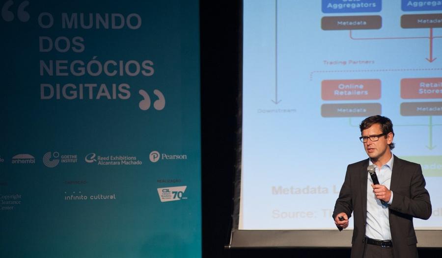 Ronald Schild, que está no Brasil para apresentar a editores e livreiros o Books in Print, fala sobre os desafios que tem enfrentado no País | © André Fortes / Divulgação