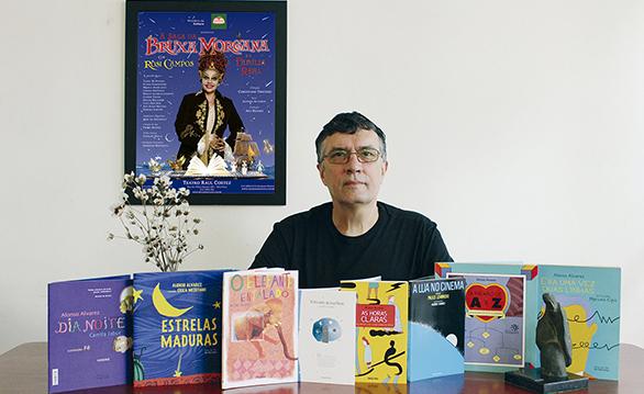 Alonso Alvarez, idealizador do projeto 'Passeio Literário ao Redor do Bairro' | © Divulgação