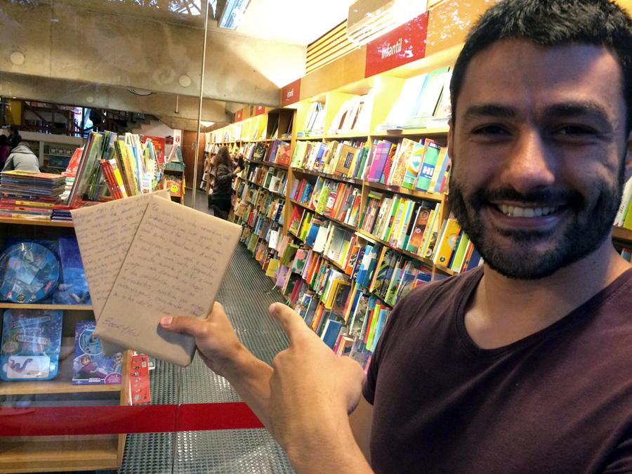 Cassio Bartolomei: 'No Book4You, nós não julgamos os livros pela capa' | © Leonardo Neto