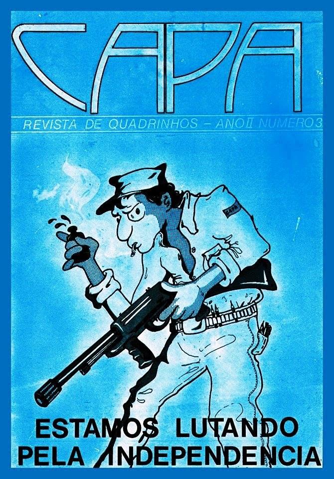 Terceira edição da Revista de quadrinhos 'Capa' | © Divulgação