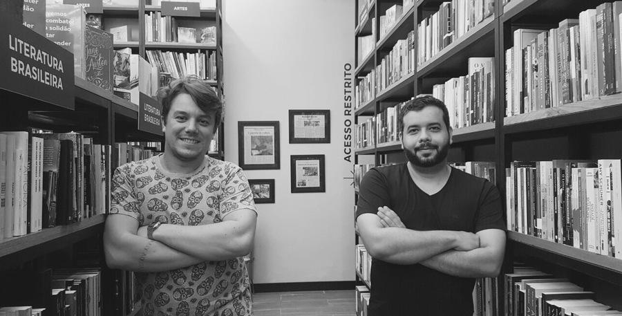 Dupla de colunistas: André Palme e Bruno Mendes agora são sócios no #coisadelivreiro | © Divulgação