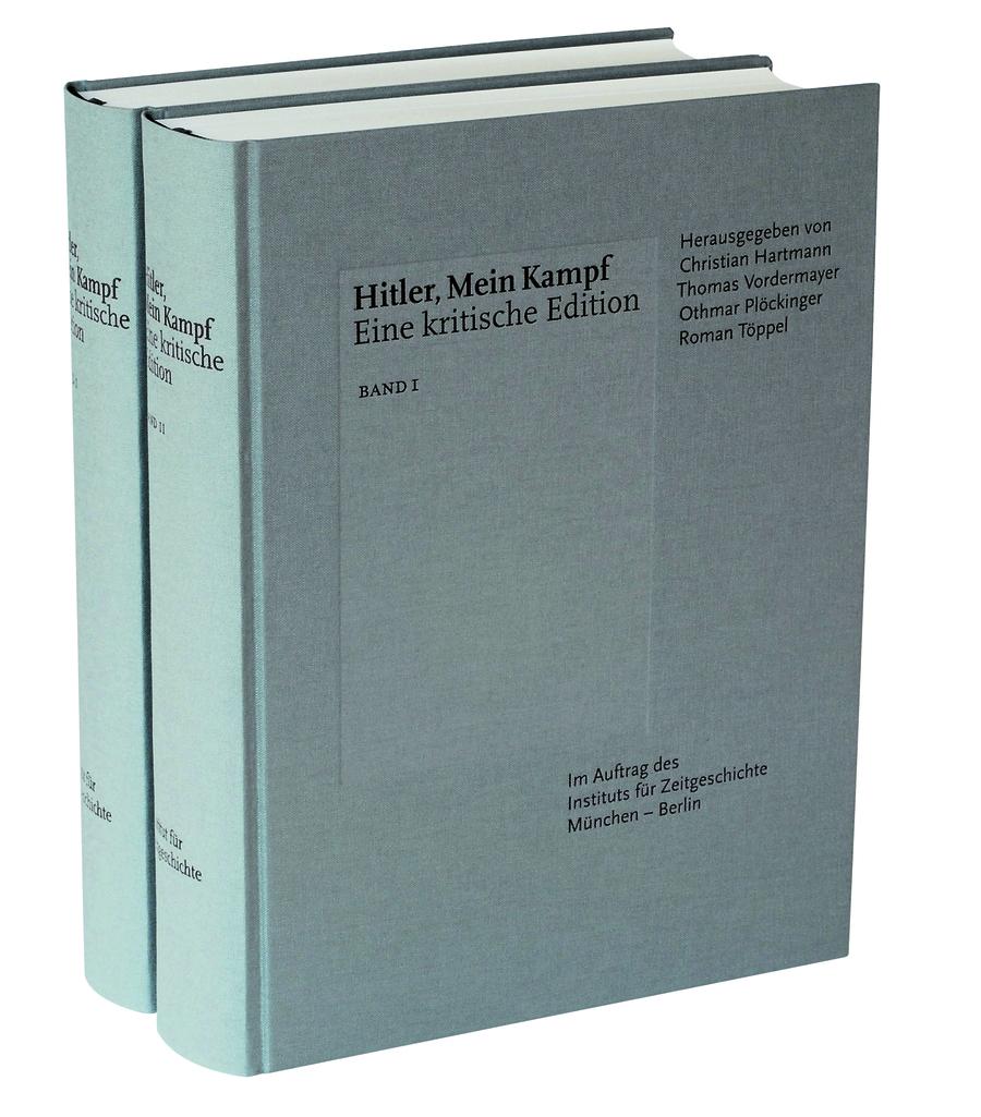 Edição comentada do Mein Kampf lançada pela IfZ virou best-seller na Alemanha | © Divulgação