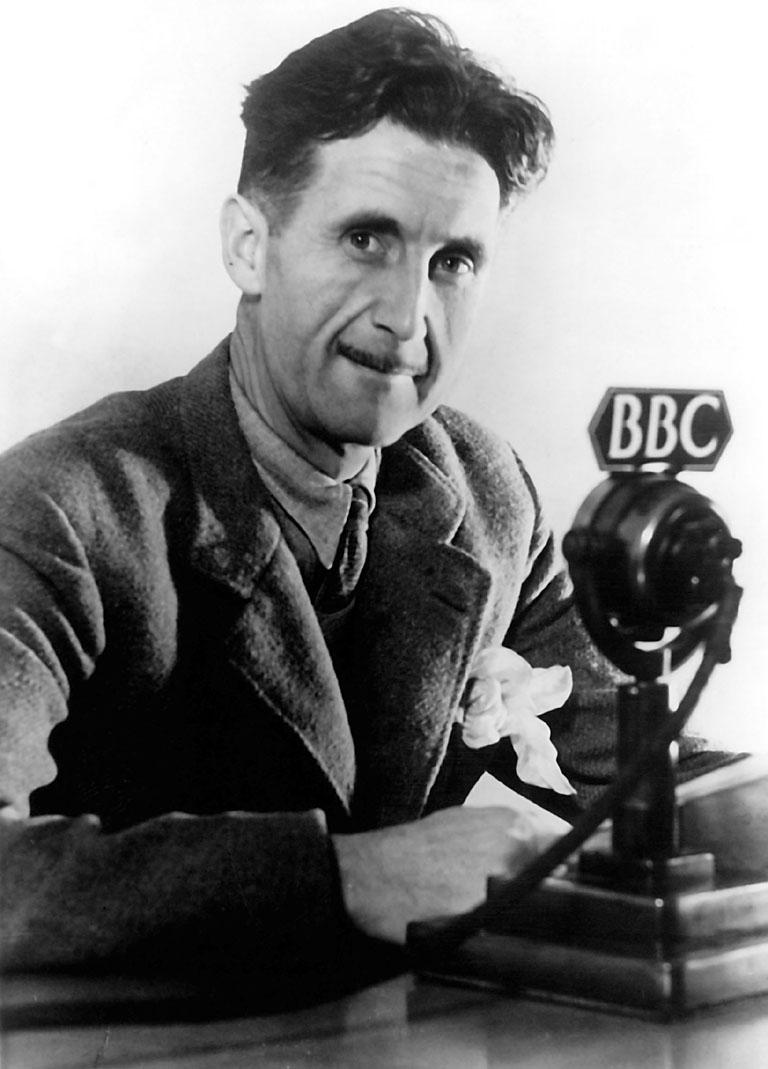 George Orwell ganha destaque na lista desta semana ao ter duas de suas obras na lista | © BBC / WikiCommons