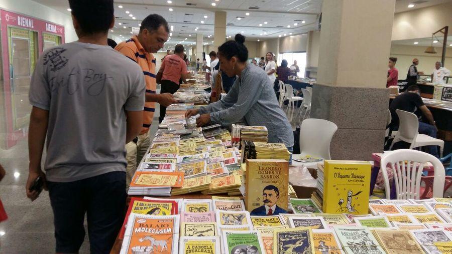 Expositores da Bienal do Livro do Ceará foram, na sua maioria, empresas locais | © Bernardo Gurbanov