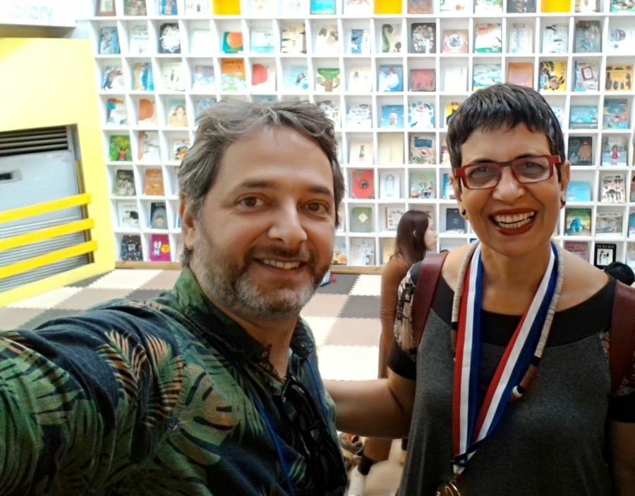 Nosso colunista Volnei Canônica entrevista Marilda Castanha, única brasileira a ganhar o Nami Concours | © Volnei Canônica