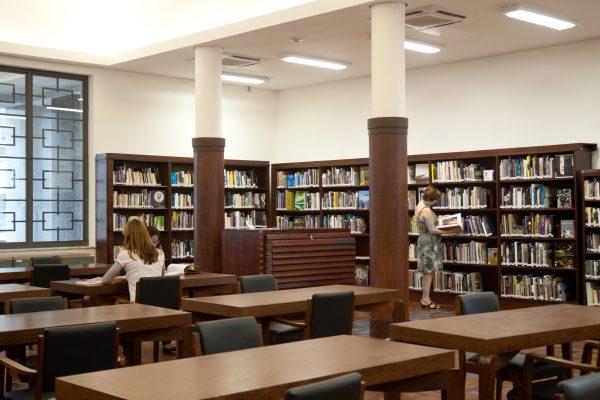 Biblioteca Mário de Andrade, a maior da cidade de São Paulo e a segunda maior do Brasil, deixou de abrir ao público durante a noite | © Sylvia Masini / Secretaria de Cultura