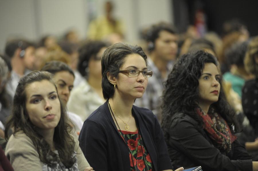 Plateia da primeira edição do InterLivro, em 2015 | © Divulgação / Bienal