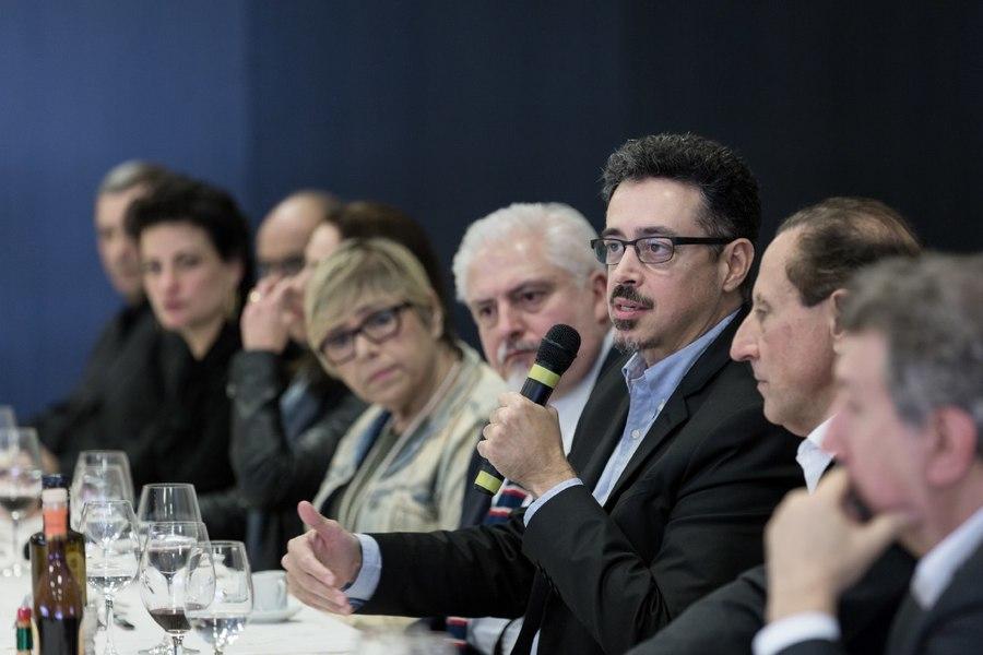Ministro Sérgio Sá Leitão apresentou os cinco pilares que sustentarão sua gestão no Ministério da Cultura (Foto: Janine Moraes / MinC)