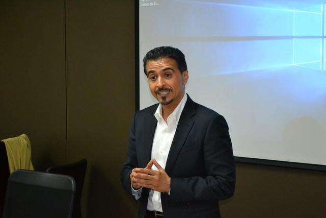 Ahmed Al Ameri apresenta os potenciais do mercado editorial dos Emirados Árabes Unidos durante a sua passagem pelo Brasil | © Divulgação / CBL