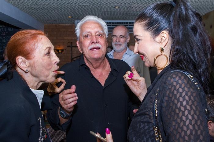 Marina Colasanti, Luiz Alves Jr. e Alessandra Colasanti, filha de Marina | © Diego Lima