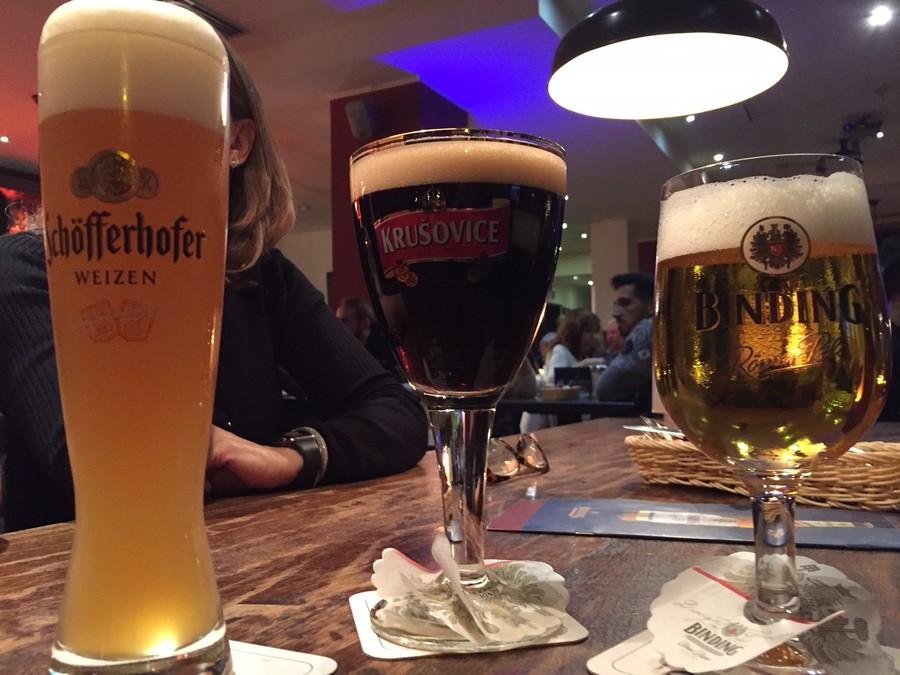 Prost! Não podia faltar a cerveja alemã | © Rafaela Lamas