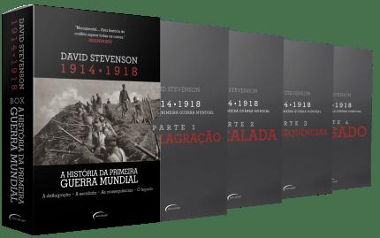 Box A história da Primeira Guerra Mundial estreou na lista já ocupando a 16ª posição da Lista Geral dessa semana | © Divulgação