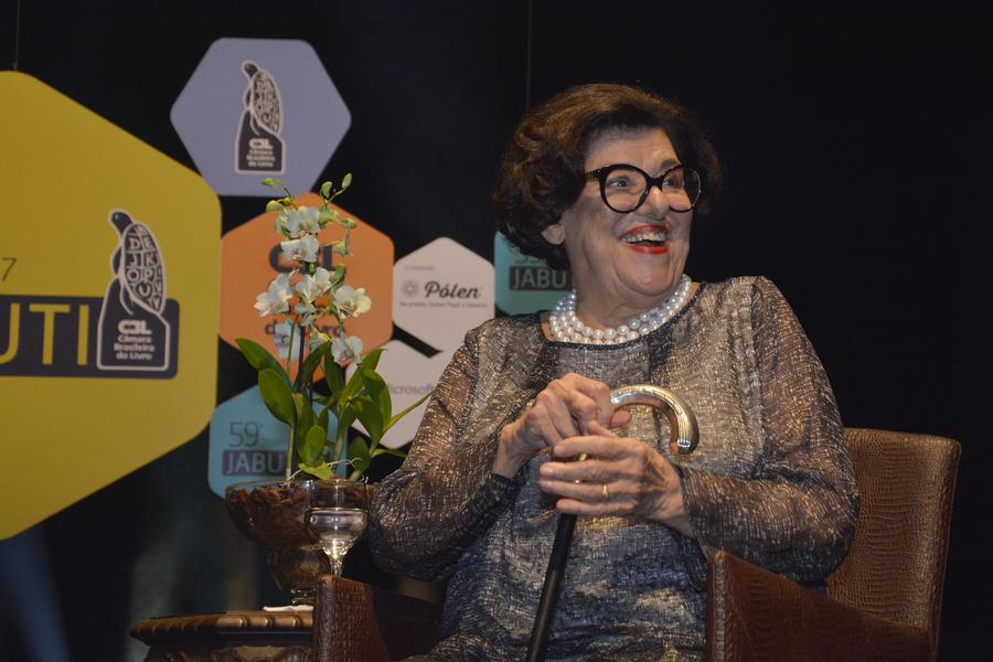 Ruth Rocha, a homenageada da noite | © Elisangela Borges