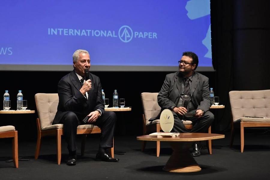 Paulo Rocco foi o homenageado especial do Prêmio Avena PublishNews de 2017