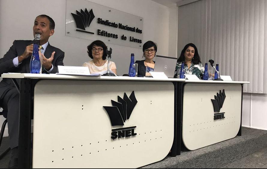 Equipe da Fipe apresenta dados da pesquisa Produção e Vendas do Setor Editorial Brasileiro