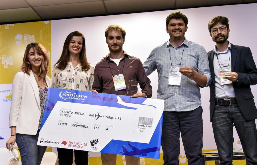 Os vencedores do Prêmio Jovens Talentos de 2017