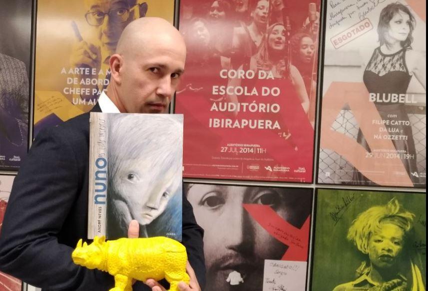 André Neves e o seu 'Nuno e as coisas incríveis' | © Volnei Canônica