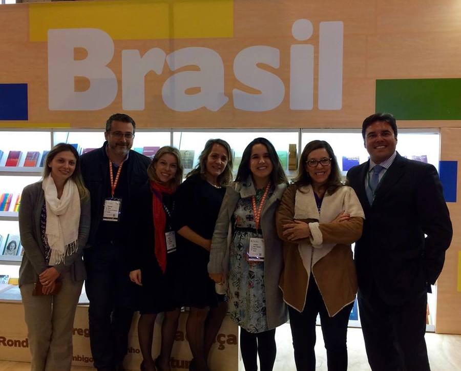 Editores brasileiros que estiveram na Feira do Livro de Bogotá de 2017 | © Brazilian Publishers