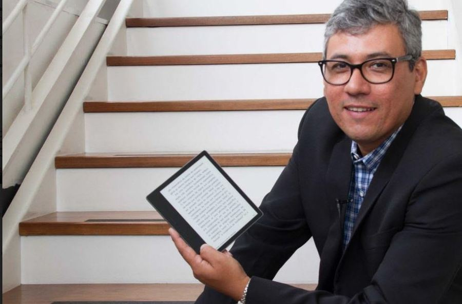 Mauro Maciel é o vencedor da segunda edição do Prêmio Kindle de Literatura   © Divulgação