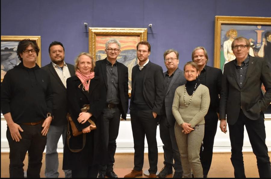Jornalistas e analistas do mercado editorial que compõem a PubMagNet se reuniram em Oslo no fim de janeiro