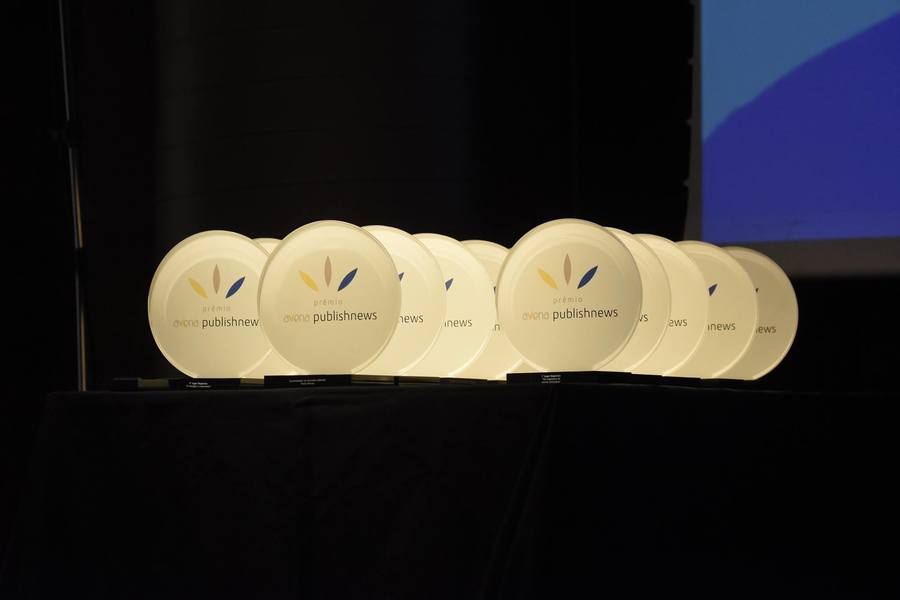 Cerimônia do Prêmio Avena PublishNews acontece no próximo dia 19, em São Paulo