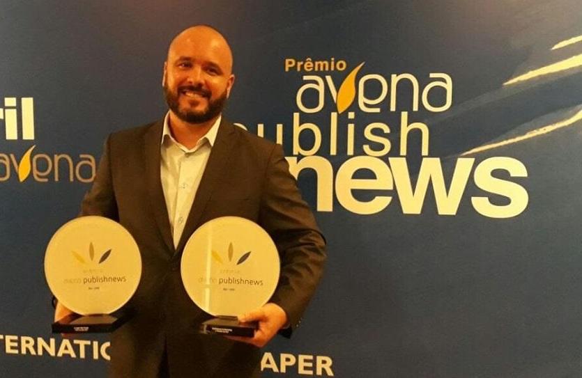 Antônio Bitiati foi o vencedor do Prêmio Avena PublishNews de Profissional de Marketing e de Vendas de 2017   © Acervo pessoal