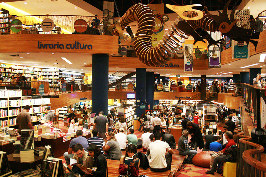 Pelo 12º mês consecutivo, faturamento com a venda de livros no Brasil cresce acima da inflação | © Divulgação / Livraria Cultura