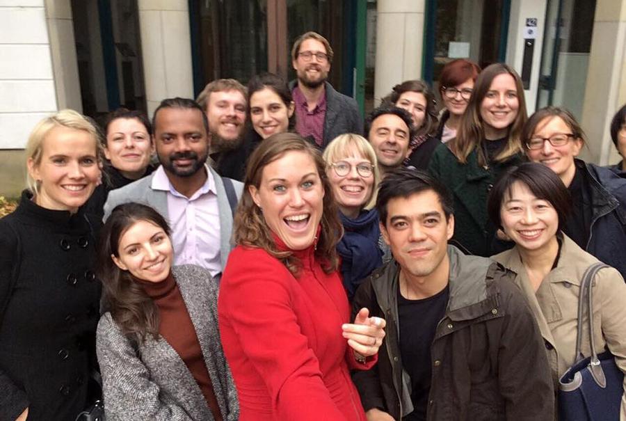 Editores que participaram do fellowship em 2017   © Lisanne Mathijssen-Van Hoorn