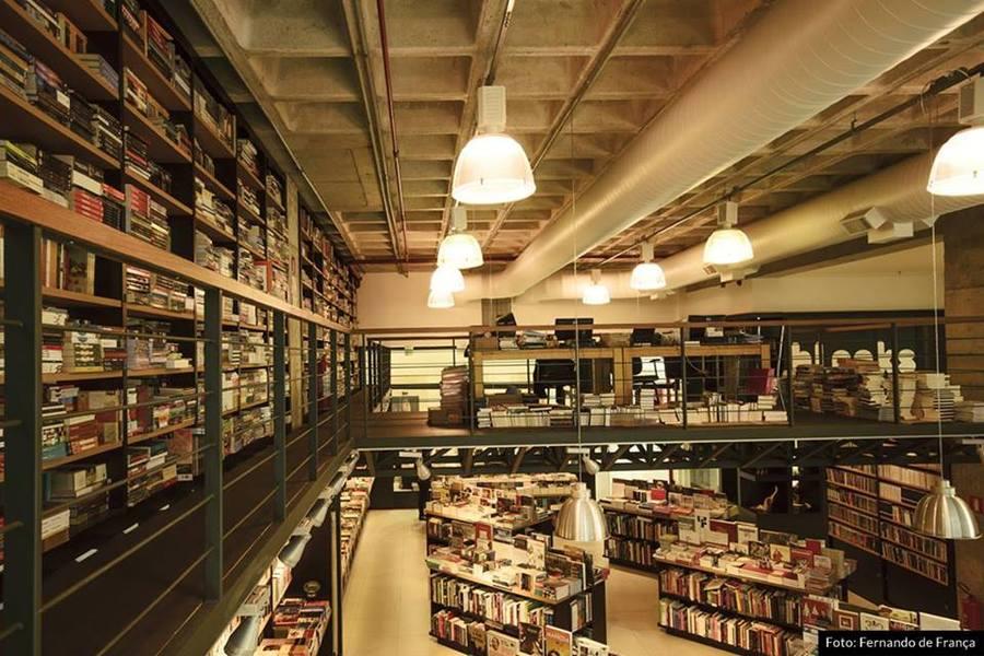 Livraria Blooks é um exemplo de livraria independente no mercado brasileiro   Fernando de França / Divulgação
