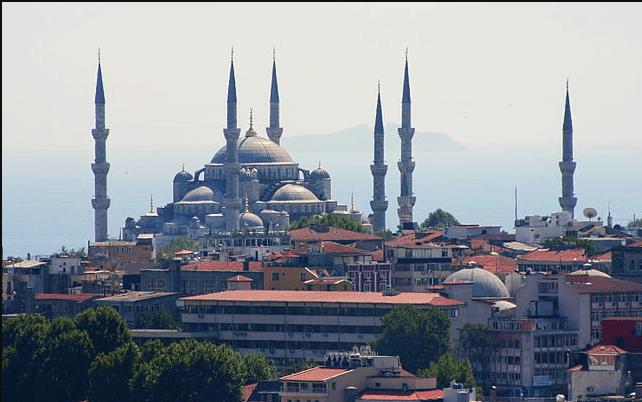 A Mesquita Azul é um dos cartões postais de Istambul | © José Luiz Ribeiro / WikiCommons