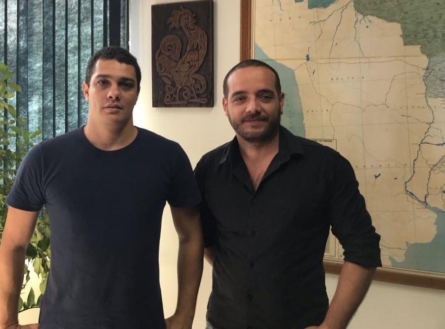 Wendel Almeida e Ludson Aiello, responsáveis pelo projeto