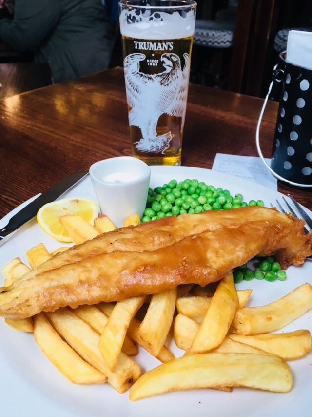 Clássico: fish and chips