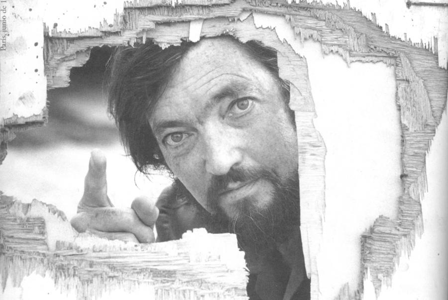 Julio Cortázar clicado em Paris no ano de 1976 | © Anne de Brunhoff