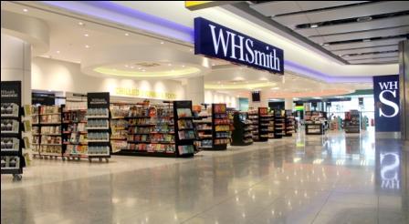 Loja da WHSmith no terminal cinco do aeroporto de Heathrow, em Londres | © Divulgação