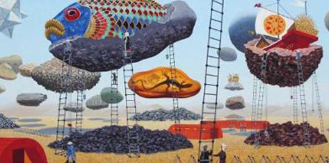 Cinco artistas brasileiros também foram escolhidos sob a curadoria de Dolores Prades   © Bente Olesen Nystrom, do livro 'Hr. Alting'. Gyldendal. Copenhagem, 2006