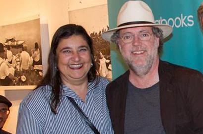 Marifé Boix Garcia e Ricardo Costa na Casa PublishNews em 2017