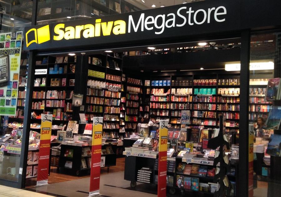Fornecedor pede falência de Saraiva por dívida de R$ 60 mil | © Leonardo Neto