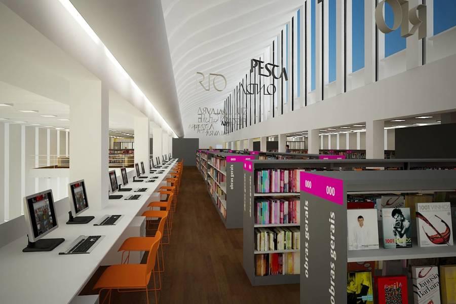 Biblioteca Parque Estadual, localizada no Centro do Rio de Janeiro | © Divulgação / Secretaria de Estado da Cultura do Rio de Janeiro
