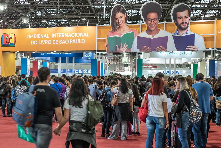 Sem as principais varejistas na Bienal, lista deixou de ser um termômetro das vendas do megaevento que segue com a sua programação até o próximo domingo | © Divulgação / Bienal