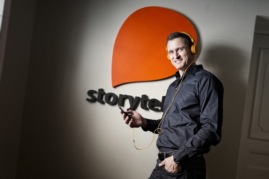Jonas Tellander, CEO da Storytel, diz que capital extra servirá para a expansão da plataforma de audiolivros, inclusive para a América Latina | © Daniel Roos / Divulgação