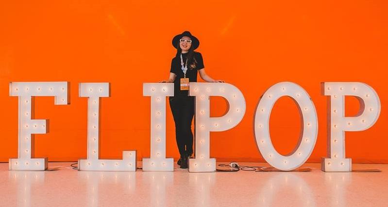Diana Passy, idealizadora do Flipop, levou o Prêmio Jovens Talentos pela sua capacidade de reunir em torno do evento uma verdadeira comunidade de jovens leitores | © Redes sociais da ganhadora