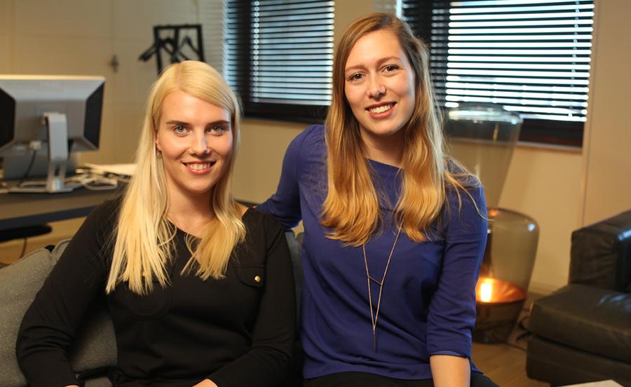 Veronika Kartovenko e Sabine van der Plas, idealizadoras do Sweek | © Divulgação