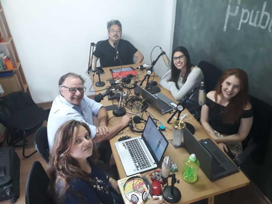 Pierre André Ruprecht participou ao lado da nossa equipe do Podcast do PublishNews | © Zé Barrichello