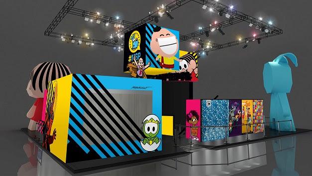 Estande da MSP na Comic Con Experience 2018 | © Divulgação