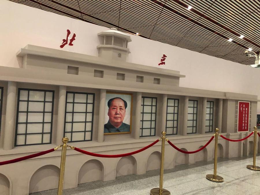 Foto do Mao Tsé-Tung, autor do best seller Chinês 'O livro vermelho' (pra dizer o mínimo).